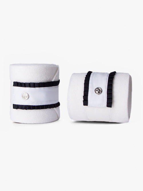 PS of Sweden Ruffle Bandages White & Black