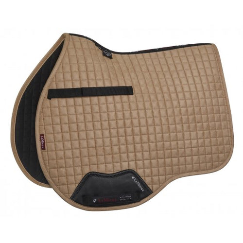 LeMieux Suede All Purpose Saddle Pad Champagne