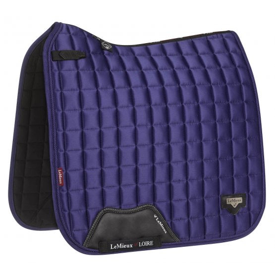 LeMieux Loire Classic Dressage Saddle Pad Ink Blue