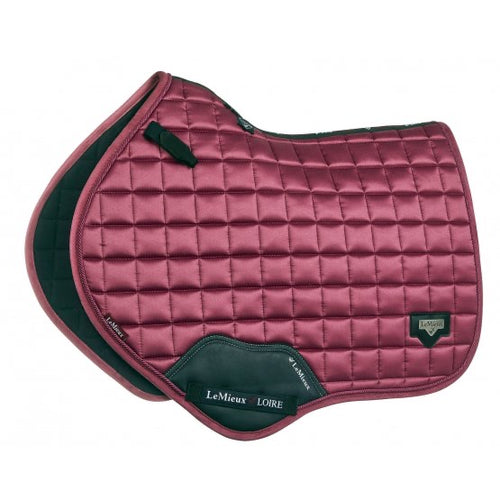 LeMieux Loire Classic Jumping Saddle Pad French Rose