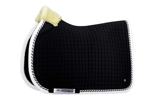 PS of Sweden Jumping Saddle Pad Pro Black & White