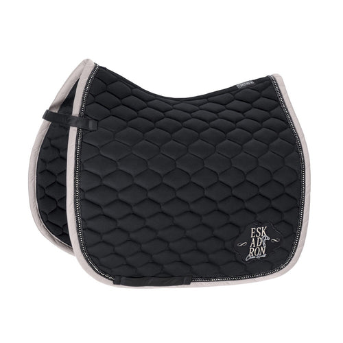 Eskadron Classic Sports Cotton Emblem Saddle Pad Caviar