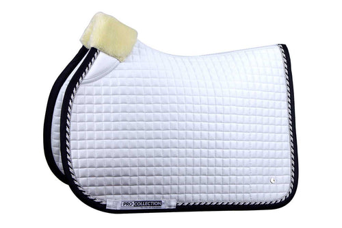 PS of Sweden Jumping Saddle Pad Pro White & Black