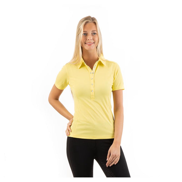 ANKY SS21 Essential Polo Shirt Lime Light