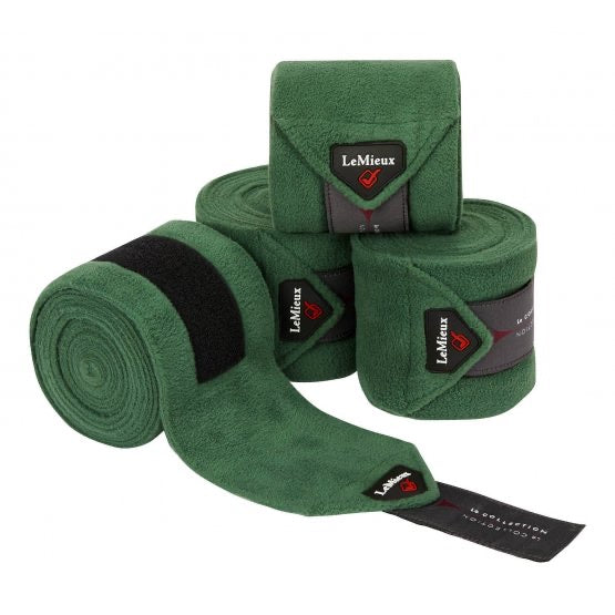 LeMieux Luxury Bandages Hunter Green