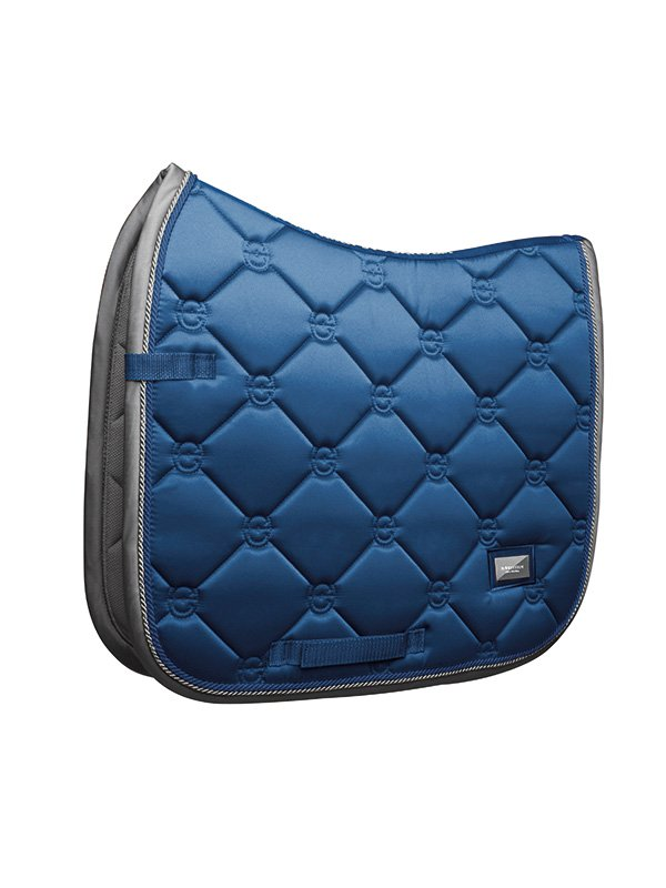 Equestrian Stockholm Dressage Saddle Pad Moroccan Blue