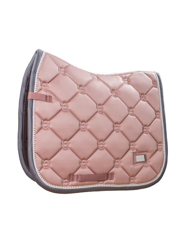 Equestrian Stockholm Dressage Saddle Pad Pink Pearl