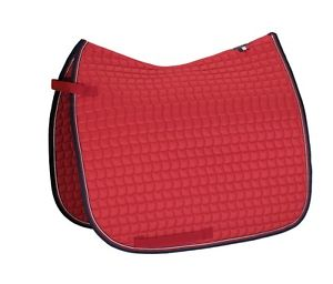 Eskadron Small Square Dressage Saddle Pad Pepper Red