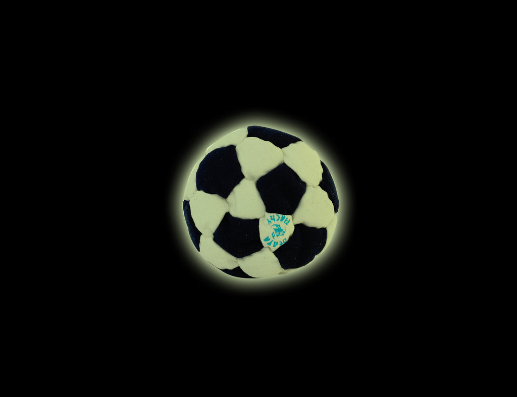 FOOTBAG 32-Panel Soccer Glow In The Dark