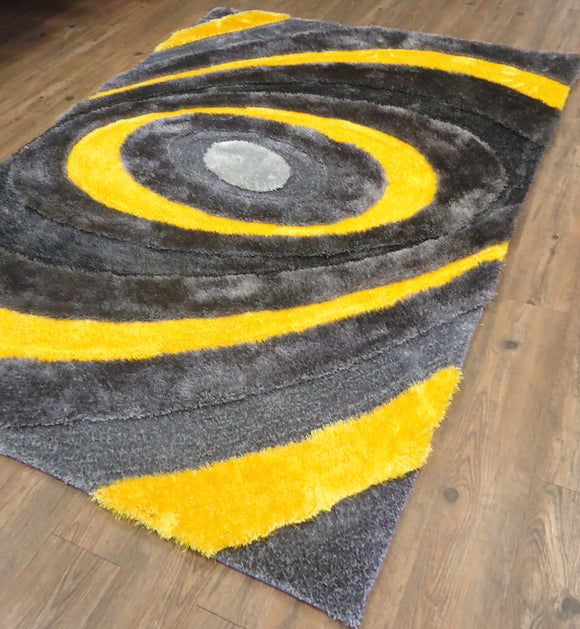 Yellow Color Area Rug
