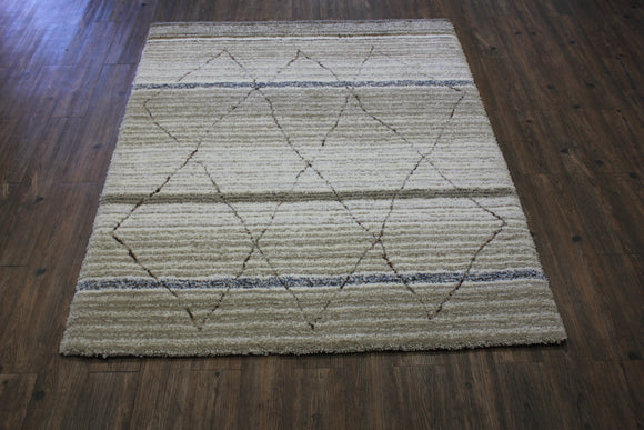 Contemporary 8x11 Area Rug