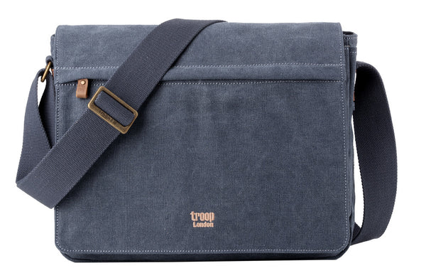 Classic Flap Front Messenger Bag