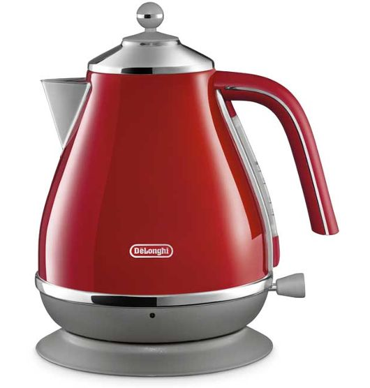 Delonghi Icona Kettle - Red