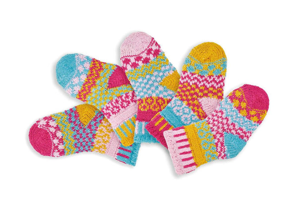 Solmate Socks - Cuddle Bug Set of 5 - Baby 12-24