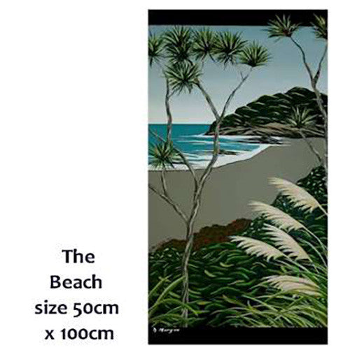 50 x 100cm - The Beach