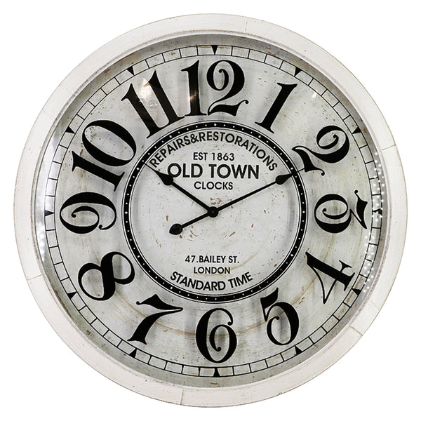 Old Town London Wall Clock - Oversized