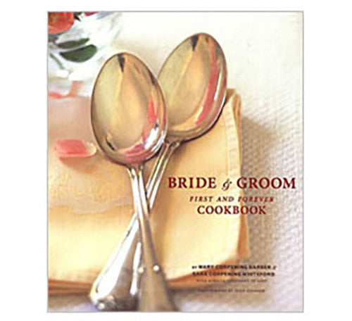 Book - Bride & Groom First and Forever Cookbook