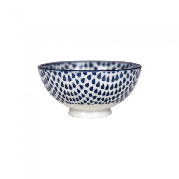 Gusta Out of the Blue Drops - Round Bowl 10cm
