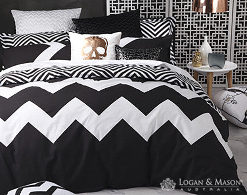Logan and Mason Marley Black - King Set