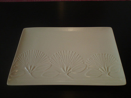 Steiner Pohutukawa Platter Medium - Bone White