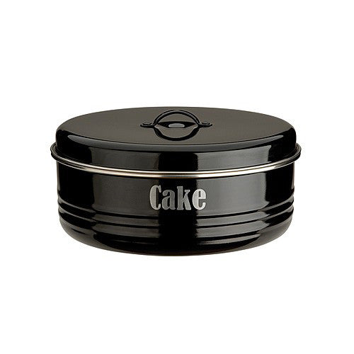 Typhoon Vintage Cake Tin - Black