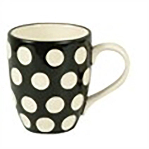 Mason Cash Mugs - set of 6 Mix/Match Black/White