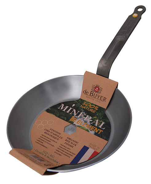 De Buyer Mineral B Steel Frypan - 28cm