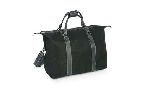Angola Weekender Bag with Black Handles