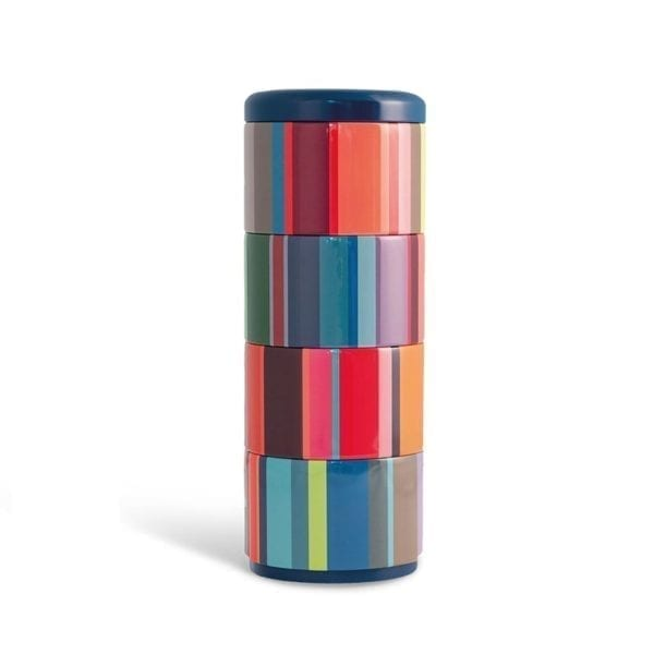 Remember Stackable set of containers - stripes