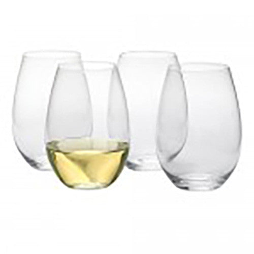 Sommelier Stemless Wine Glasses - set of 4