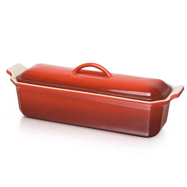 Le Creuset Heritage Rectangular Terrine with press - 32cm