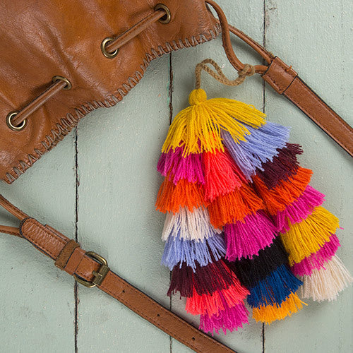 Tassel Tie - Bag accessories