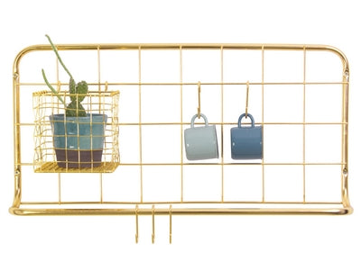 Kitchen Rack - Gold Plated