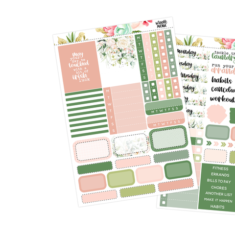 Vertical Mini Kit - Spring Flowers