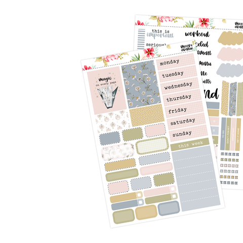 Passion Planner Pro 2 Page Kit - Strong