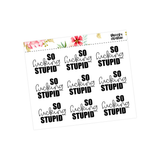 Lazy Planner Stickers