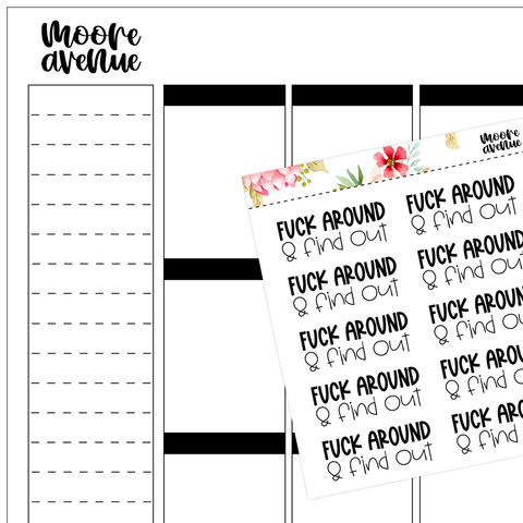 Doodle Icon Planner Stickers - Garbage/Recycle