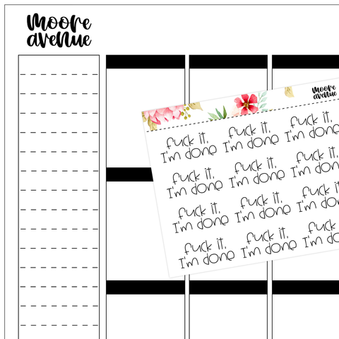 Music Quote Stickers