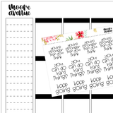 Potty Mouth Planner Stickers - Fucking Virtual Learning