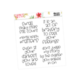 School Planner Stickers - Teacher Quotes Vol Two