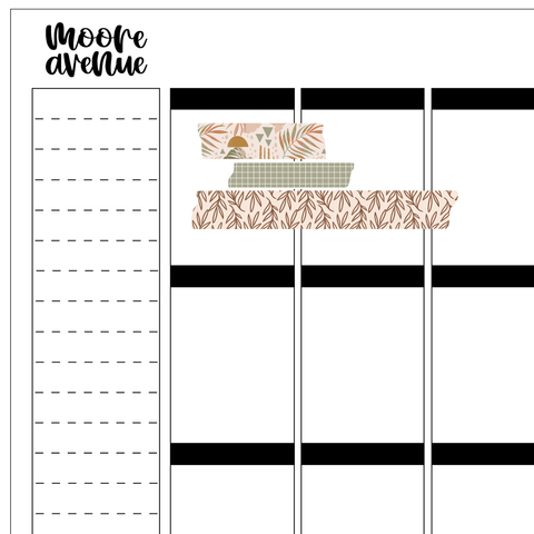 Potty Mouth Stickers - Too Tired