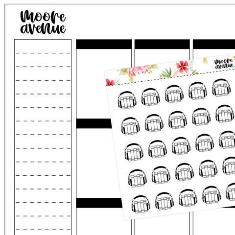 Potty Mouth Planner Stickers - Tired of This Shit