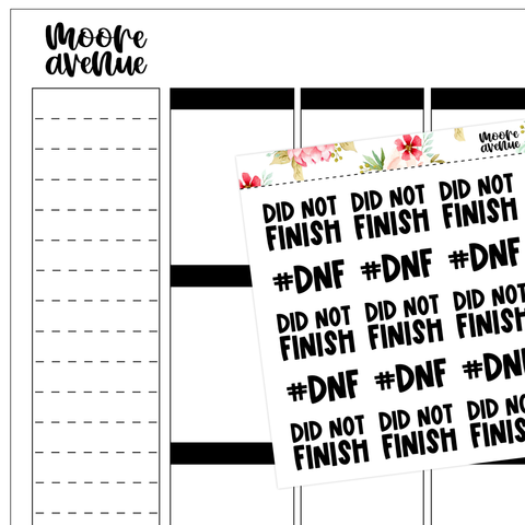 Sassy Planner Stickers - So Petty