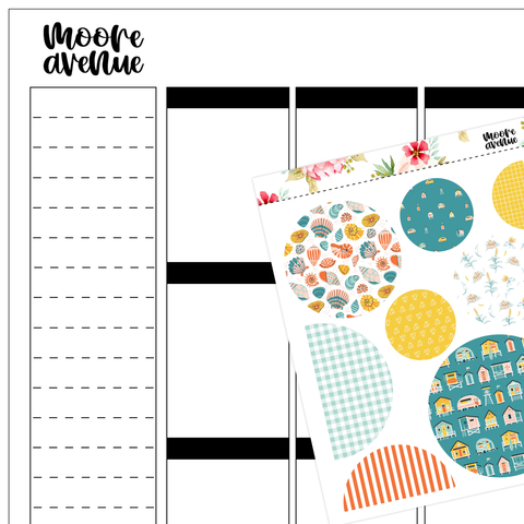 Storm Quote Planner Stickers