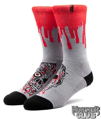 Zombie Head Socks