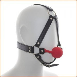 Premium Hush Ball Gag Red BALL