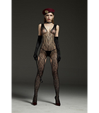 Corporal Crop Body Stocking