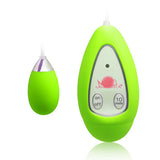 Xtreme 10 Frequency Small Egg Vibrator Green