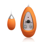 Xtreme 10 Frequency Small Egg Vibrator Orange