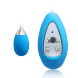Xtreme 10 Frequency Small Egg Vibrator Blue